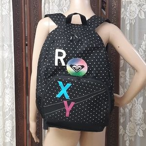 Black & White ROXY Backpack